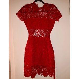 Lovers + Friends Red Dress